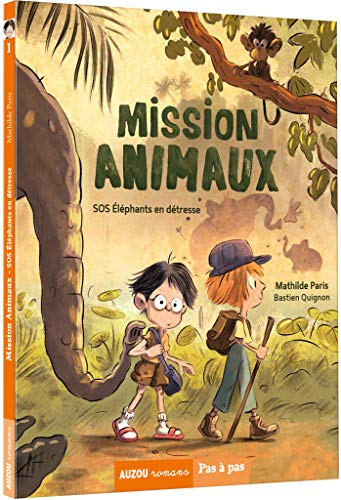 MISSION ANIMAUX SOS ELEPHANTS EN DETRESSE